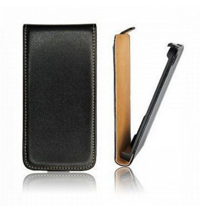 Калъф флип Slim Flip Sony Xperia M2 Aqua черен
