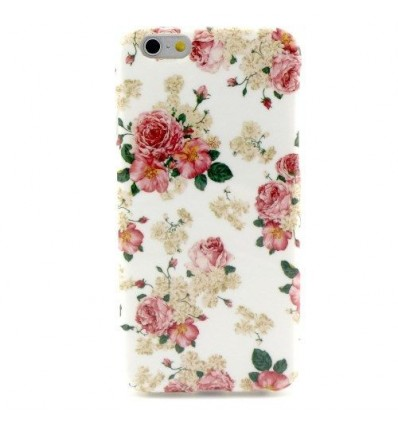 Гръб мек шарен/бутиков- iPhone 6 (4.7) цветя