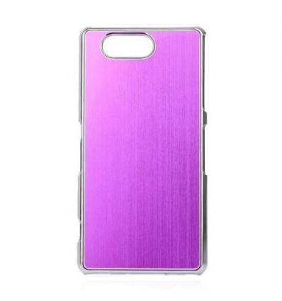 Стилен алуминиев гръб Purple Xperia Z3 compact