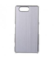 Стилен алуминиев гръб Silver Xperia Z3 compact