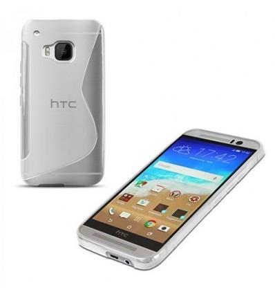 Прозрачен калъф от силикон S-Case за HTC ONE M9