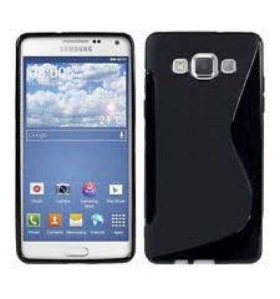 Гръб силикон S-Line Samsung Galaxy A5 черен