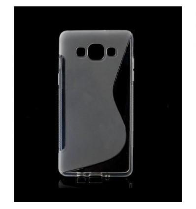 Гръб силикон S-Line Samsung Galaxy A5 прозрачен