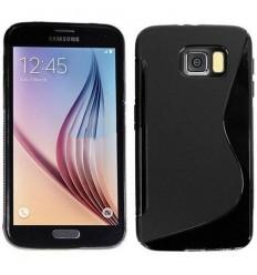 Калъф силиконов S-Line за Samsung Galaxy S6 G920 черен