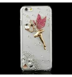 Луксозен гръб с кристали Beautiful Angel iPhone 6