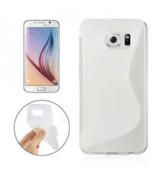 Калъф силиконов S-Line за Samsung Galaxy S6 G920 прозрачен