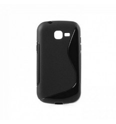 Гръб силикон S-Line Samsung S7390 Fresh/Trend Lite черен