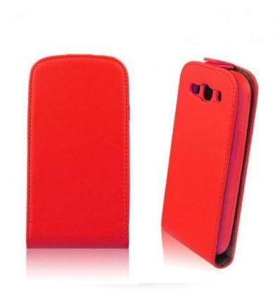 Флип Slim Flip Flexi Samsung Galaxy A3 червен