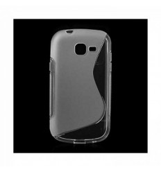 Гръб силикон S-Line Samsung S7390 Fresh/Trend Lite прозрачен