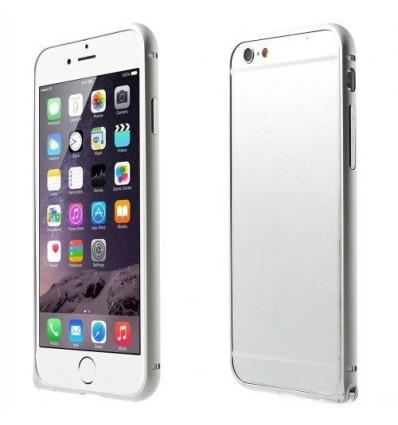 Стилен метален бъмпер iPhone 6  silver