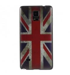 Гръб твърд шарен/бутиков за Samsung Galaxy N910 Note 4 uk флаг