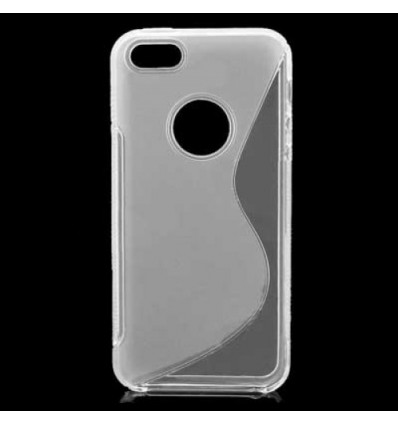 Гръб силикон S-Line iPhone 5C: прозрачен