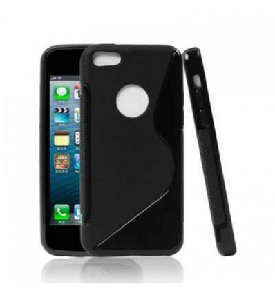 Гръб силикон S-Line iPhone 5C: черен
