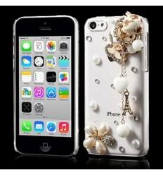 Гръб твърд шарен/бутиков - iPhone 5c