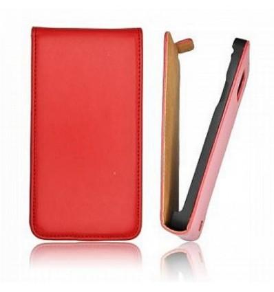Калъф флип Slim Flip Iphone 5C червен