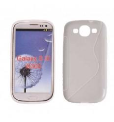 Гръб силикон S-Line Samsung i9300 Galaxy S3 бял