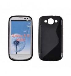 Гръб силикон S-Line Samsung i9300 Galaxy S3 черен