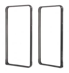Стилен метален бъмпер Love Mei черен Samsung G850 Galaxy Alpha