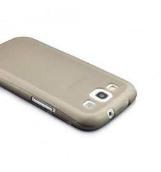 Гръб мек NewTop Samsung i9300 Galaxy S3 сив