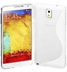Гръб силикон S-Line Samsung Galaxy N910 Note 4 прозрачен
