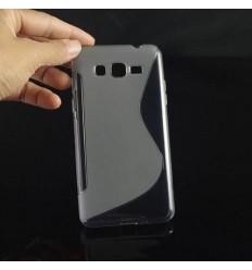 Гръб силикон S-Line Samsung G530 Galaxy Grand Prime прозрачен