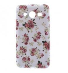 Гръб мек шарен/бутиков Samsung G355 Galaxy Core 2 цветя