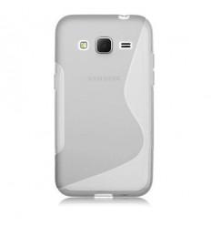 Гръб силикон S-Line Samsung G360 Galaxy Core Prime прозрачен