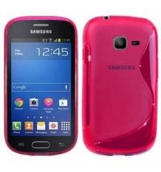 Гръб силикон S-Line Samsung S7390 Fresh/Trend Lite розов