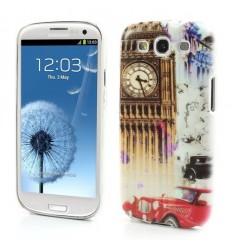Гръб твърд шарен/бутиков за Samsung i9300 Galaxy S3 London