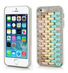 Луксозен гръб Twinkling Crystal iPhone 5s 5