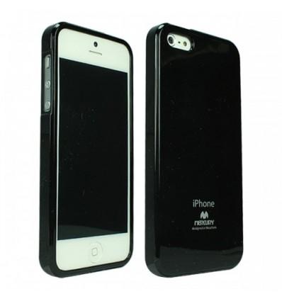 Марков калъф Mercury Jelly Case за iPhone 5 - черен
