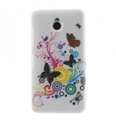 Гръб твърд с апликация Nokia Lumia 630 пеперуди