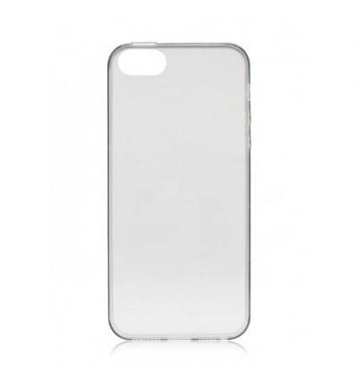 Гръб мек TPU Ultra thin сив - iPhone 5