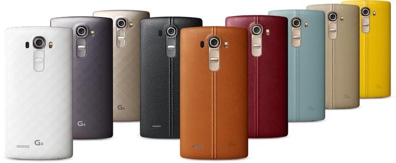 Заден капак на LG G4 - кожен и пластмасов